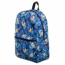 NEW Mega Man Nintendo Capcom Sublimated School Bookbag Backpack