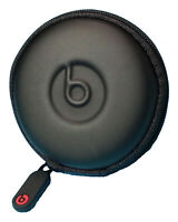Round Pocket Case for Beats Powerbeats 3/2/1, UrBeats, Tour and iBeats Earbuds.