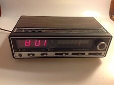 Vintage Sears COM/TREK II AM/FM/MPX Electronic Clock Radio - Model 317.23910700