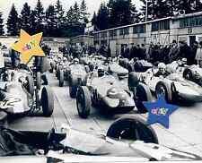 Formel V altes Fahrerlager Nürburgring,SW-Pressefoto,top Sammlerstück,rarität,