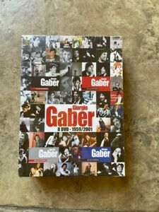 02847 DVD - Giorgio Gaber Videocollection 1959-2001 (8 Dischi)NUOVO