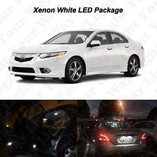 14 x White LED Interior Bulbs + License Plate Lights For 2004-2014 Acura TSX