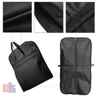 New Black Suit Carry Cover Garment Travel Storage Protector Bag Holder Carrier
