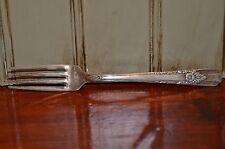 Carlton 1938 La Rose Silverplate Flatware Dinner Fork