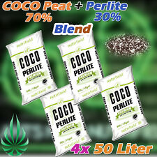 4x Coco Coir Perlite Blend Grow Medium Hydroponic Nutrifield Indoor Garden Media