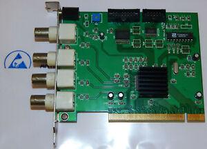 UCC4 VER 2.2 PCI VIDEO CARD CONEXANT FUSION 878A Überwachungskamera System
