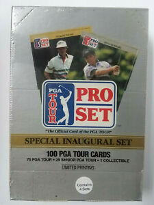 PGA TOUR PRO SET SPECIAL INAUGURAL SET 100 PGA TOUR CARDS NEW & Sealed