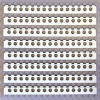 LEGO 20x Genuine brique jaune clair 1x2x1 Mur Double Coin 6173986 23969 nouveau