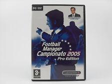 Football manager campionato 2005 Pro edition Pc Gioco Game