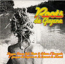 CD ALBUM CARTONNE 17 T ROOTS DE GUYANNE / GROUPES DE GUYANNE (REGGAE)  (PROMO)