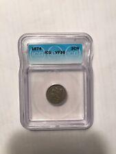 1874 3-Cent Nickel ICG VF30