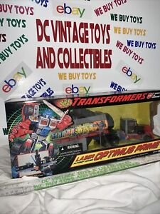 Vintage Hasbro 1995 Transformers G2 Laser Autobot Optimus prime Factory Sealed
