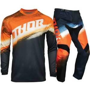 Thor MX 2021 Sector Vapor Orange/Midnight Motocross Gear Set