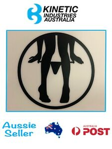 Vinyl Sticker Decal for Wall Window Car - Panty Dropper Circle - 50mm-250mm