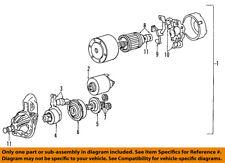 KIA OEM 02-05 Sedona-Starter Motor 3610037210RU