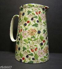 Heron Cross Pottery Hedgerow 4 Pint English Milk Jug very big (vase)