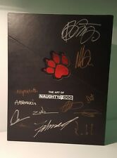 RARE THE ART OF NAUGHTY DOG LIMITED EDITION SIGNED BY DEVS THE LAST OF US