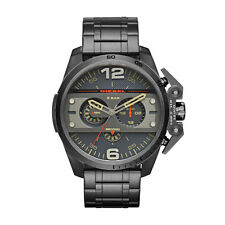 New Diesel  DZ4363 Ironside Gunmetal Chronograph Men's Watch in Original Box