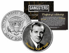 "BENJAMIN ""BUGSY"" SIEGEL * Gangster Series * JFK Kennedy Half Dollar U.S. Coin"