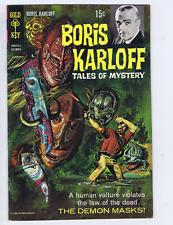 Boris Karloff Tales of Mystery #24 Gold Key 1968