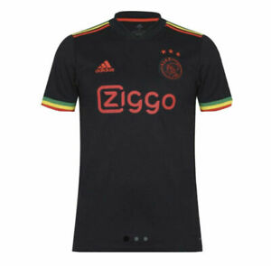 Ajax Amsterdam 21/22 Third Jersey Bob Marley 🟢🟡🔴 Three Little Birds✅ Small