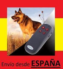 Collar perro MANDO DISTANCIA ADIESTRAMIENTO perros anti ladridos descarga shock