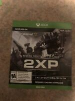 CALL OF DUTY : MODERN WARFARE 2XP 3 HOUR Xbox One *Instant 2XP DLC Only, No Disc
