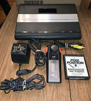 Atari 7800 ProSystem Game Console With A Game,Controller, And Adapters Tested
