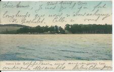 Postkarte - bantam lake - litchfield, conn