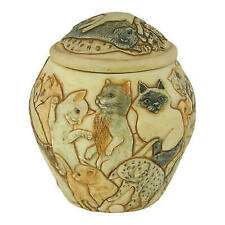 Harmony Ball Jardinia Cats Galore Cat Cachepot- a Urn for Pet Ashes