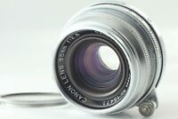 **Exc+5** Canon 35mm f/2.8 Lens for Leica Screw Mount Silver L39 LTM From JAPAN