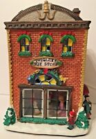 Vintage Burberry Village A Christmas Collectible Twigley's Toy Story 1998 Tested