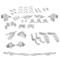 1965 1966 Ford Mustang Fastback Body Shell Brace Support Brackets 37 Pieces Set