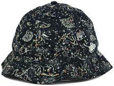 New Era Branded Black Fast Fitter Bucket Hat Cap Size Medium $50
