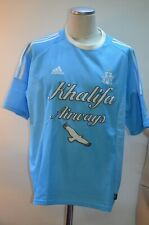 ANCIEN MAILLOT EQUIPE DE MARSEILLE FRANCE OM KHALIFA AIR WAYS JAMAIS PORTE XL