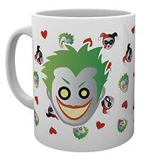 DC Comics Emoji Harley and Joker Superheroes Cup Tea Coffee Mug Mugs