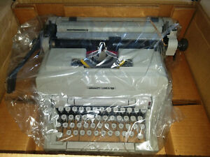 Vintage Olivetti Linea A98 Office Typewriter - NEW IN THE BOX