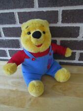 "New listing Vintage 1997 Mattel WinnieThe Pooh Bear Talking Nose Wiggles Bear Plush 14"""