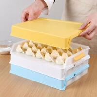 Food Dumpling Refrigerator Storage Box Plastic Container Kitchen Storage Case