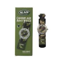 Reloj de pulsera niños Ejército Militar Camuflaje Camuflaje regalo ideal para los soldados poco