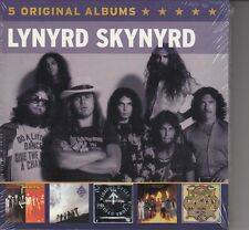 Lynyrd skynyrd/second helping, vicious cycle, et autres (5-cd-box-set, NOUVEAU!)