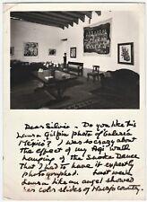 RARE Original  Laura Gilpin Photo & Letter  Artist Dorothy Newkirk Stewart 1955