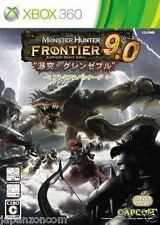 Used Xbox 360 Monster Hunter Frontie MICROSOFT JAPAN JP JAPANESE JAPONAIS IMPORT