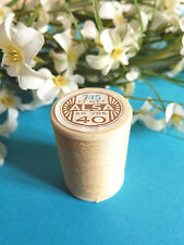 672B/ Superb Spool Of Thread Alsa For Embroidery No. 40 Yellow Straw No. 745