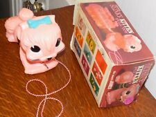 Vintage Original Slinky Kitten Pull Toy in the Box