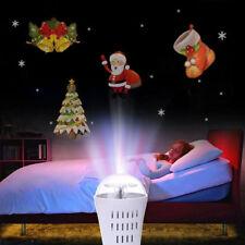 LED laser Projecteur Lights Noël Lampe de décoration de paysage intérieur Xmas