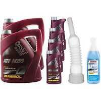 12L mannol Olio Idraulico Atf AG55 Fluido per Cambio Automatico Macchinaro