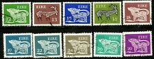 IRELAND 1980 Definitives Complete Used Set 10 Early Irish Art Scott's 466 to 475