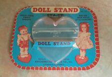 Knickerbocker Plastic  Doll Stand #711 Vintage