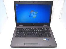 "HP Probook 6460B 14"" Laptop Computer Celeron B840 1.9Ghz 4Gb 160GB CAM WiFi Win7"
